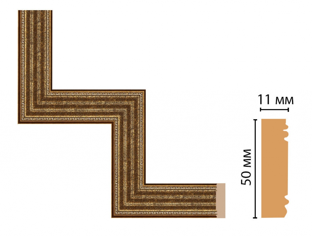 Декоративный угловой элемент DECOMASTER 156-1-43