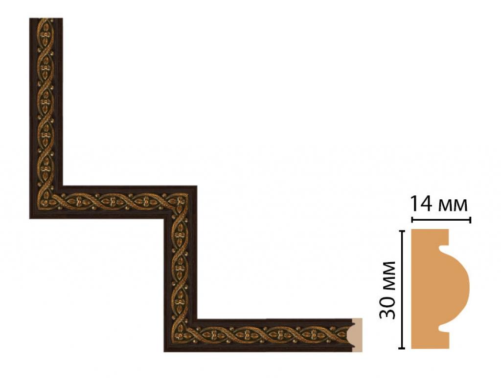 Декоративный угловой элемент DECOMASTER 157-1-1