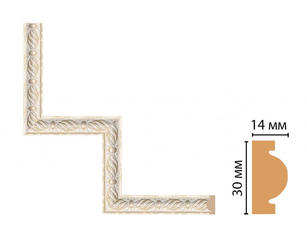 Декоративный угловой элемент DECOMASTER 157-1-18