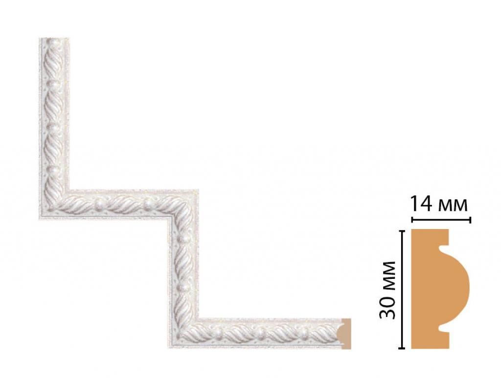 Декоративный угловой элемент DECOMASTER 157-1-19