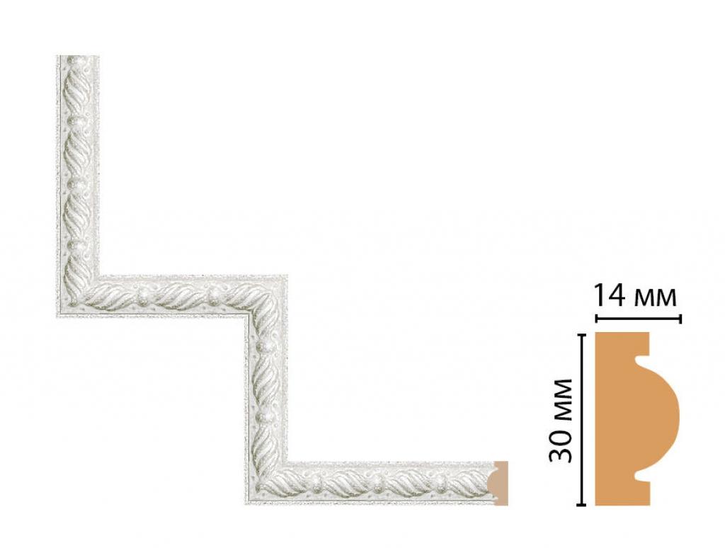 Декоративный угловой элемент DECOMASTER 157-1-20