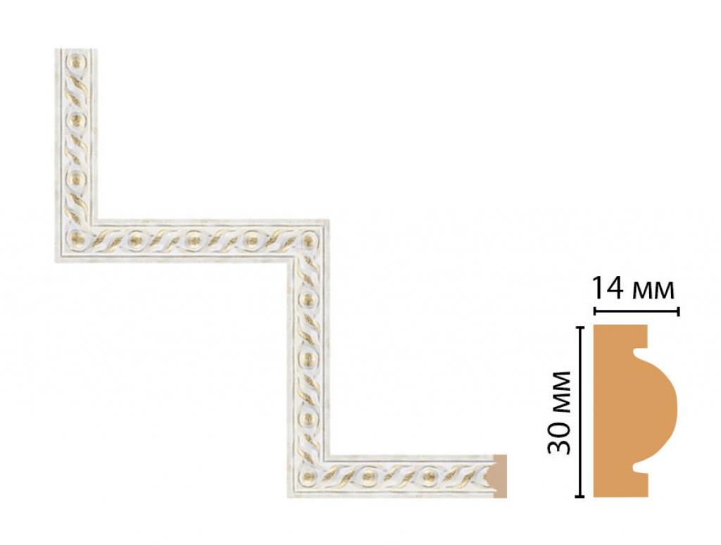 Декоративный угловой элемент DECOMASTER 157-1-40