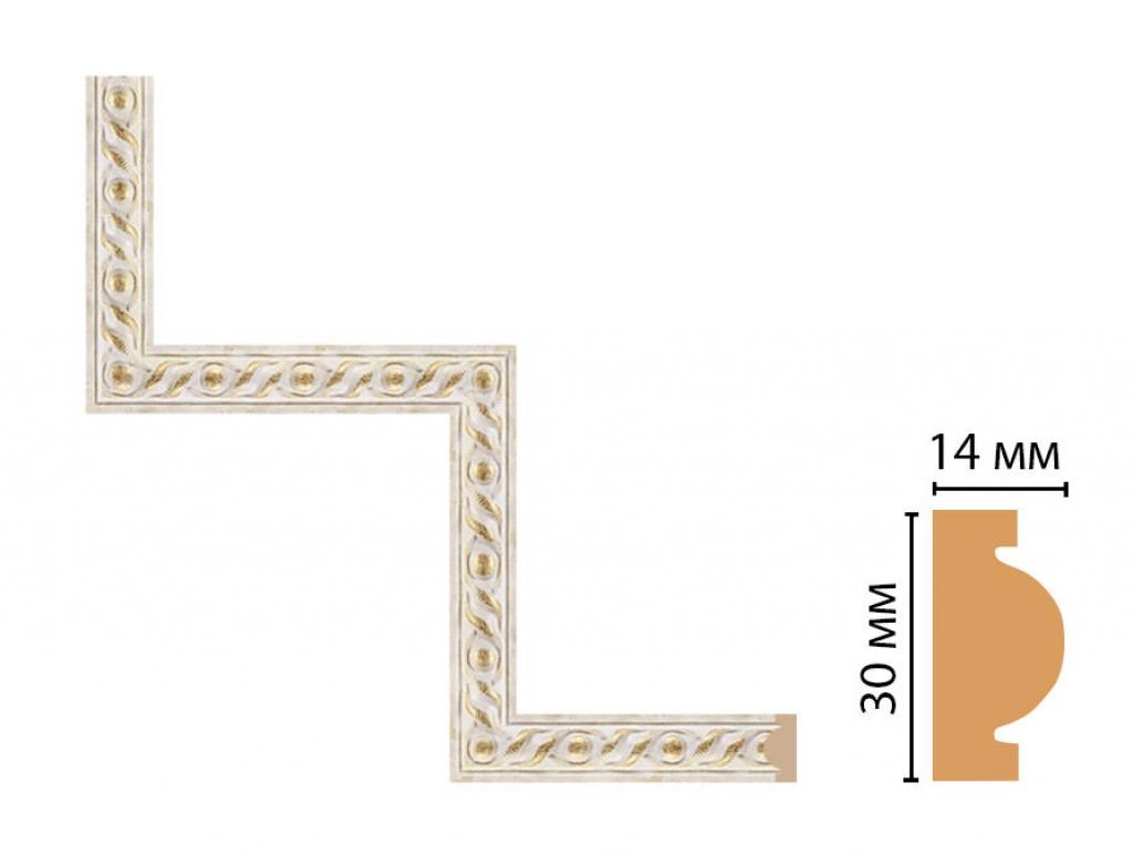 Декоративный угловой элемент DECOMASTER 157-1-41
