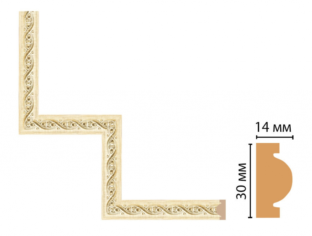 Декоративный угловой элемент DECOMASTER 157-1-5