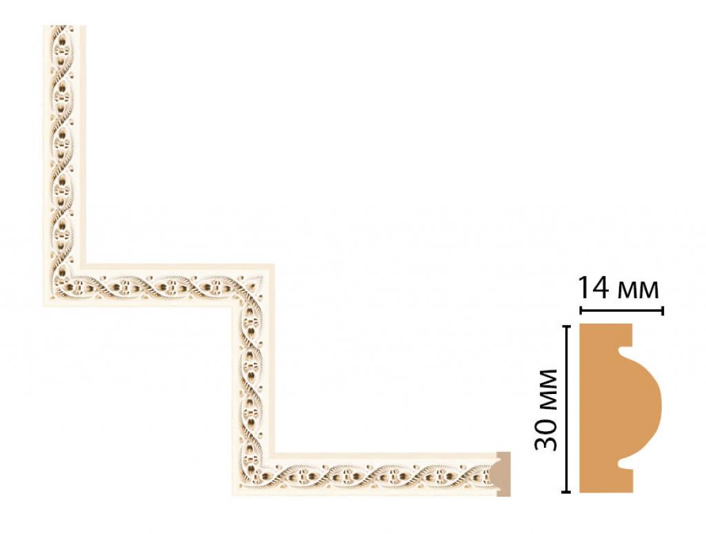 Декоративный угловой элемент DECOMASTER 157-1-6
