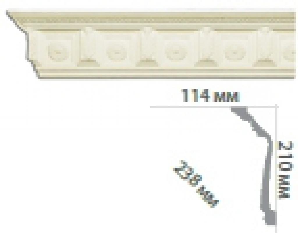 Карниз с орнаментом C101