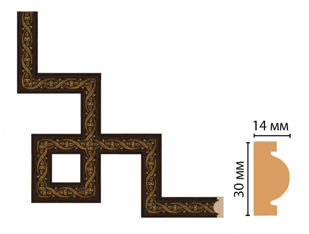Декоративный угловой элемент DECOMASTER 157-3-1