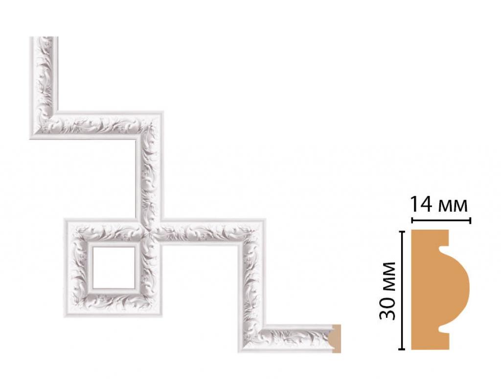 Декоративный угловой элемент DECOMASTER 157-3-115
