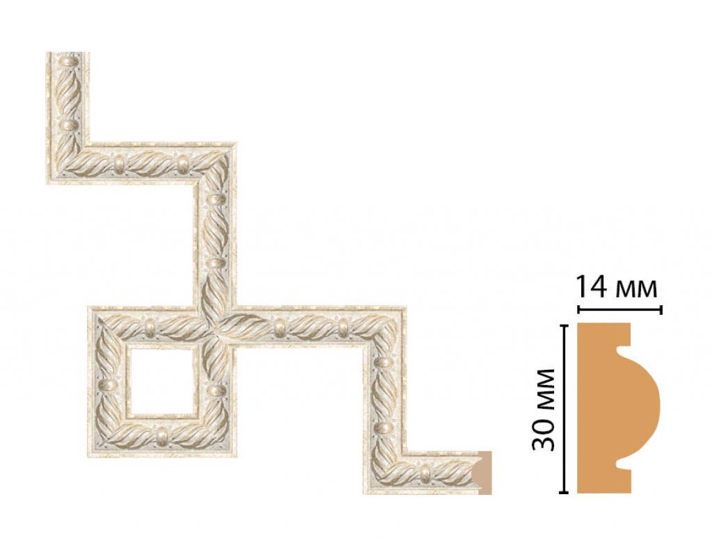 Декоративный угловой элемент DECOMASTER 157-3-18