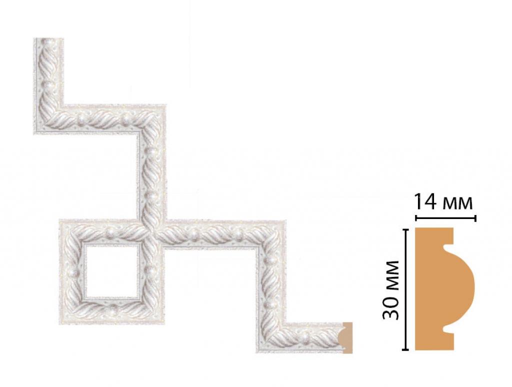 Декоративный угловой элемент DECOMASTER 157-3-19