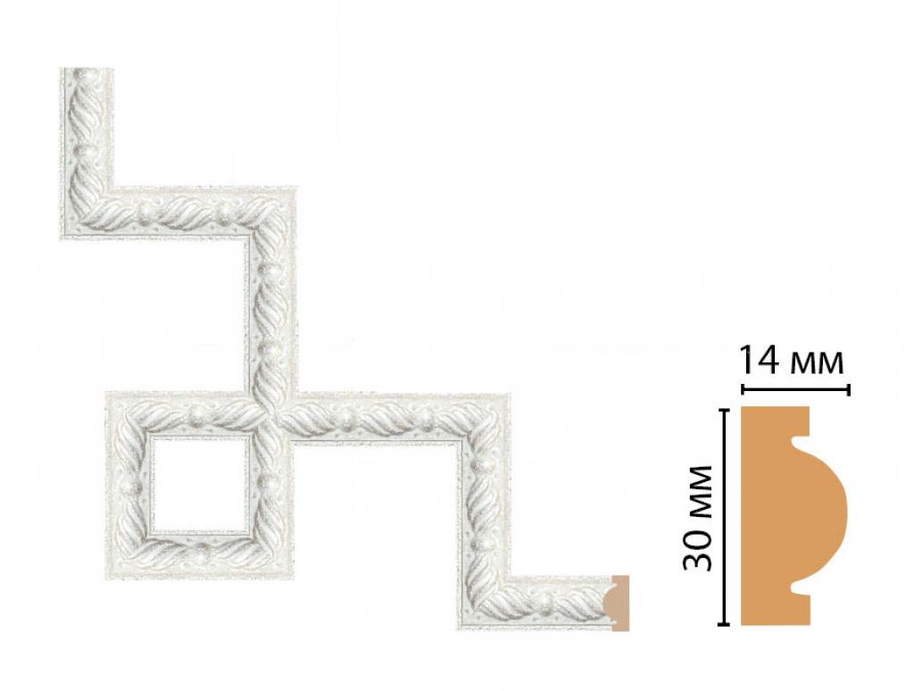 Декоративный угловой элемент DECOMASTER 157-3-20
