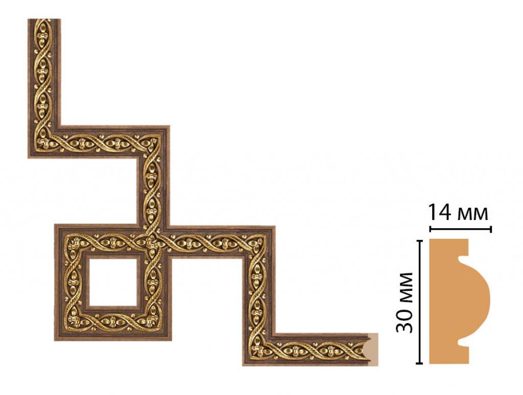 Декоративный угловой элемент DECOMASTER 157-3-3