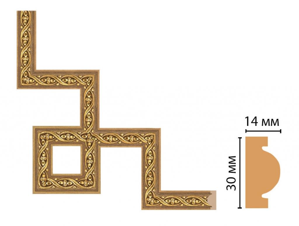 Декоративный угловой элемент DECOMASTER 157-3-4