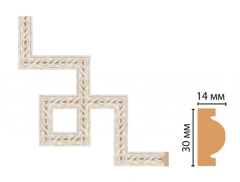 Декоративный угловой элемент DECOMASTER 157-3-41