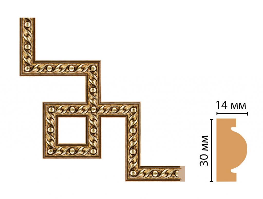 Декоративный угловой элемент DECOMASTER 157-3-43