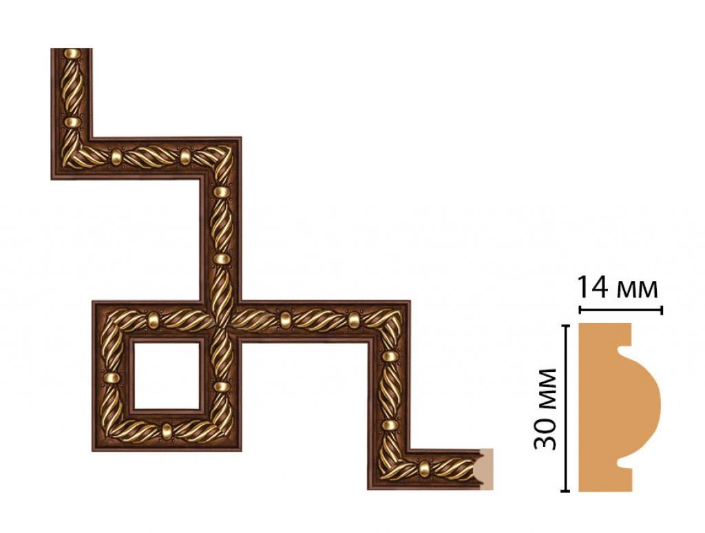 Декоративный угловой элемент DECOMASTER 157-3-51