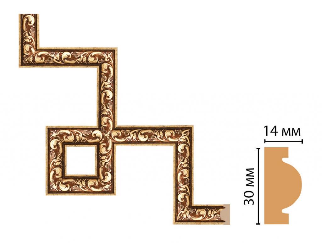 Декоративный угловой элемент DECOMASTER 157-3-552