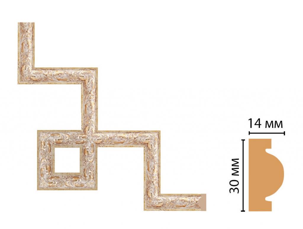 Декоративный угловой элемент DECOMASTER 157-3-553