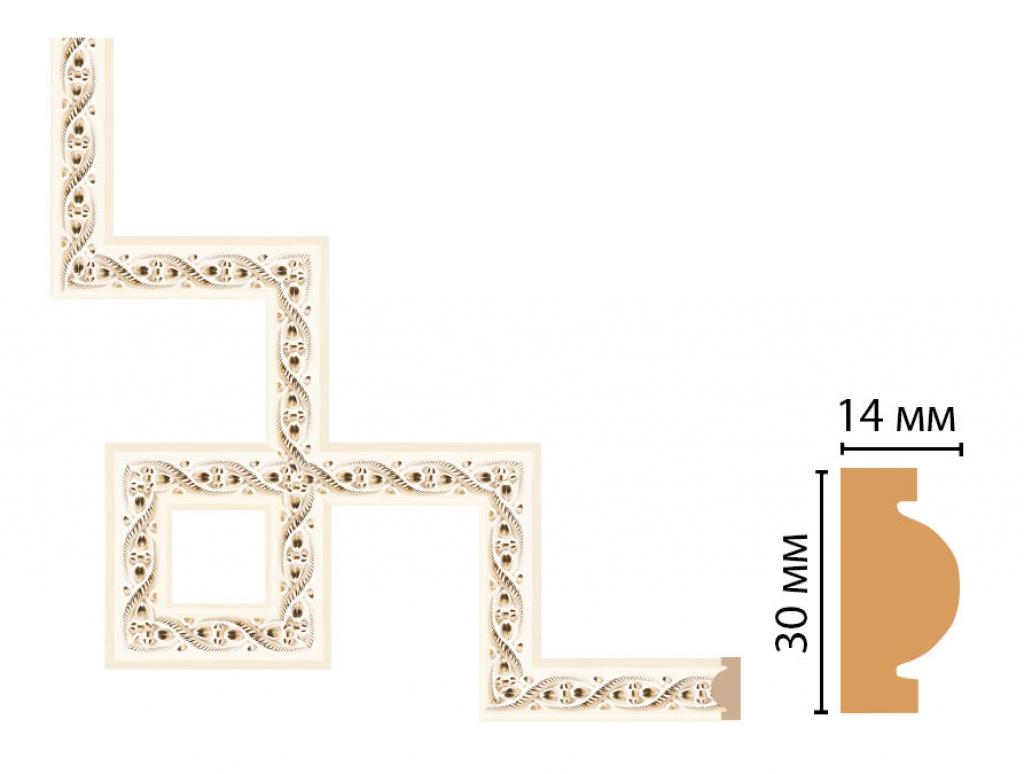 Декоративный угловой элемент DECOMASTER 157-3-6