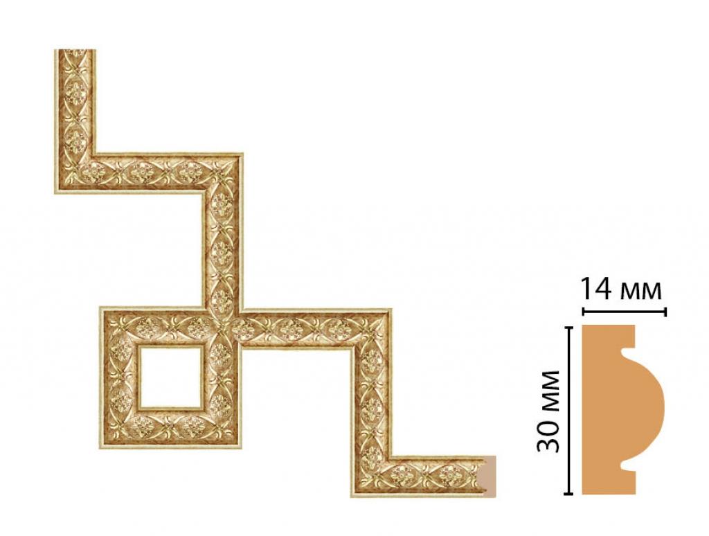 Декоративный угловой элемент DECOMASTER 157-3-933