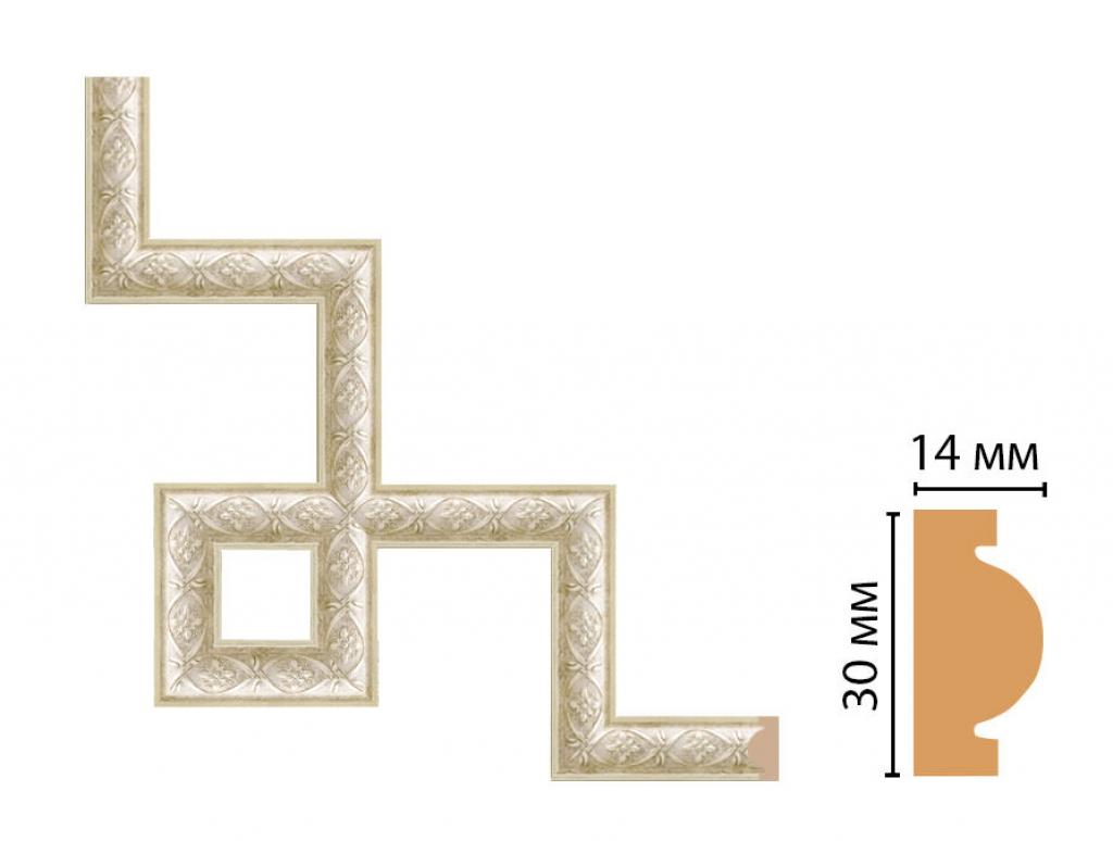 Декоративный угловой элемент DECOMASTER 157-3-937