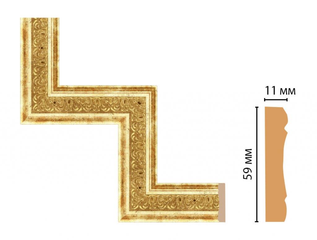 Декоративный угловой элемент DECOMASTER 164-1-126