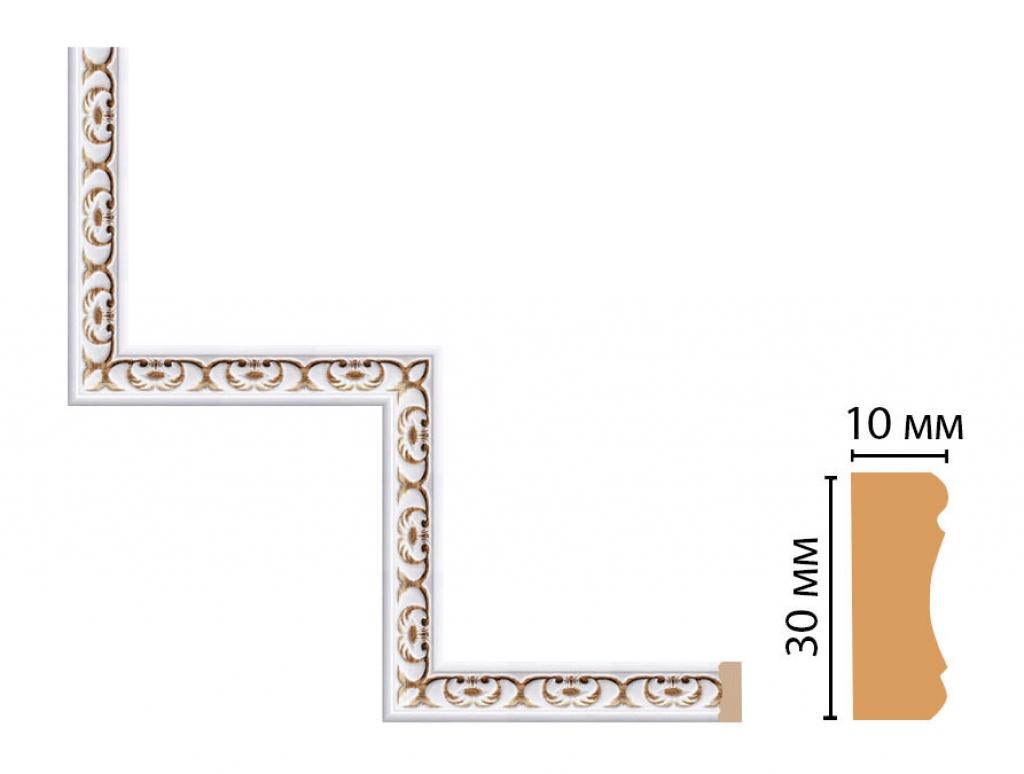 Декоративный угловой элемент DECOMASTER 165-1-118
