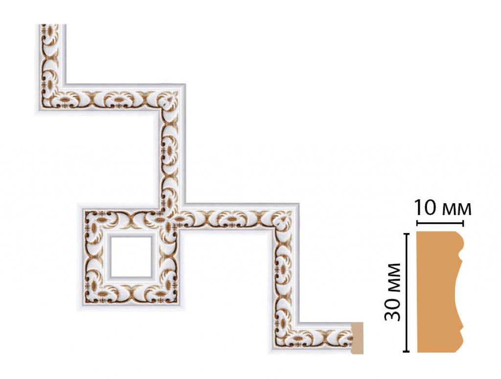 Декоративный угловой элемент DECOMASTER 165-3-118