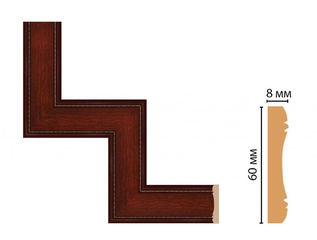 Декоративный угловой элемент DECOMASTER 185-1-52