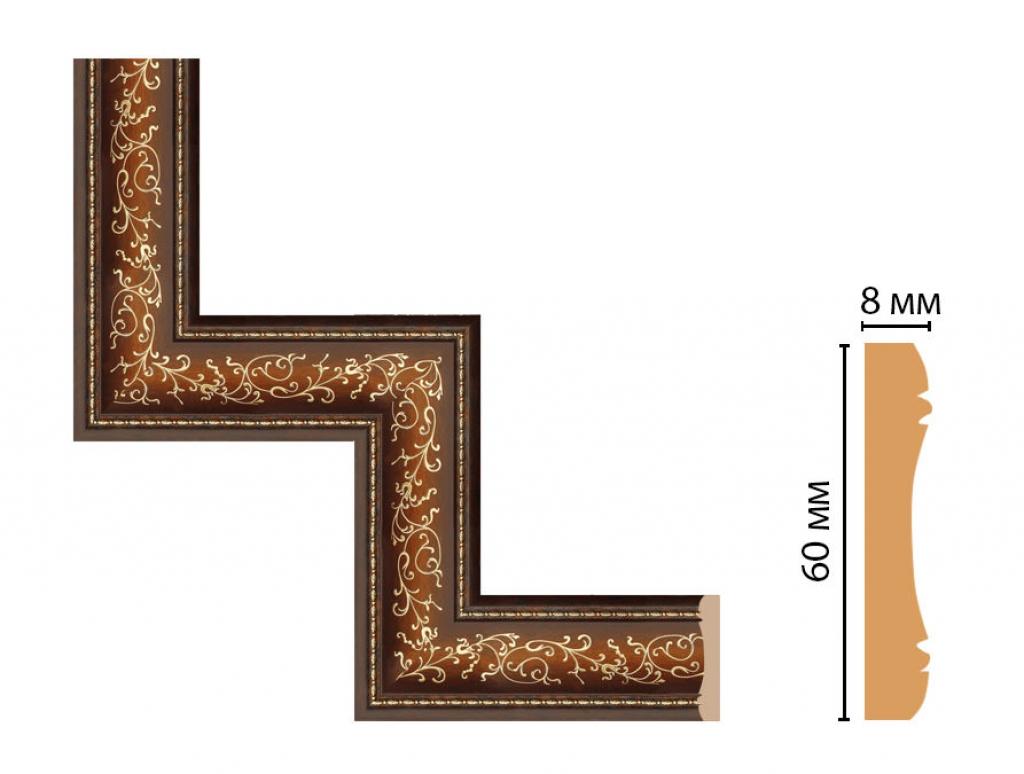 Декоративный угловой элемент DECOMASTER 186-1-51