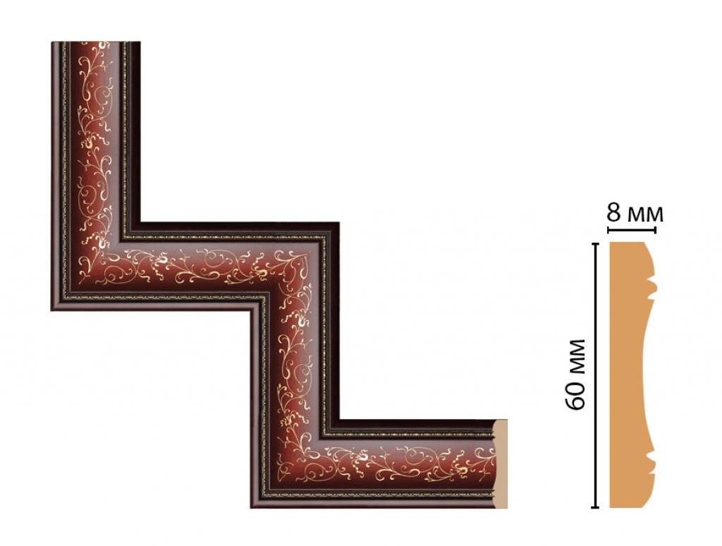 Декоративный угловой элемент DECOMASTER 186-1-52