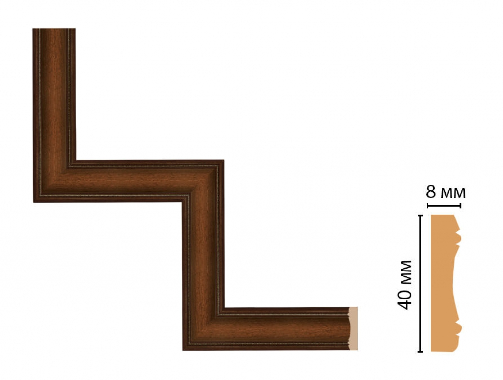 Декоративный угловой элемент DECOMASTER 187-1-51