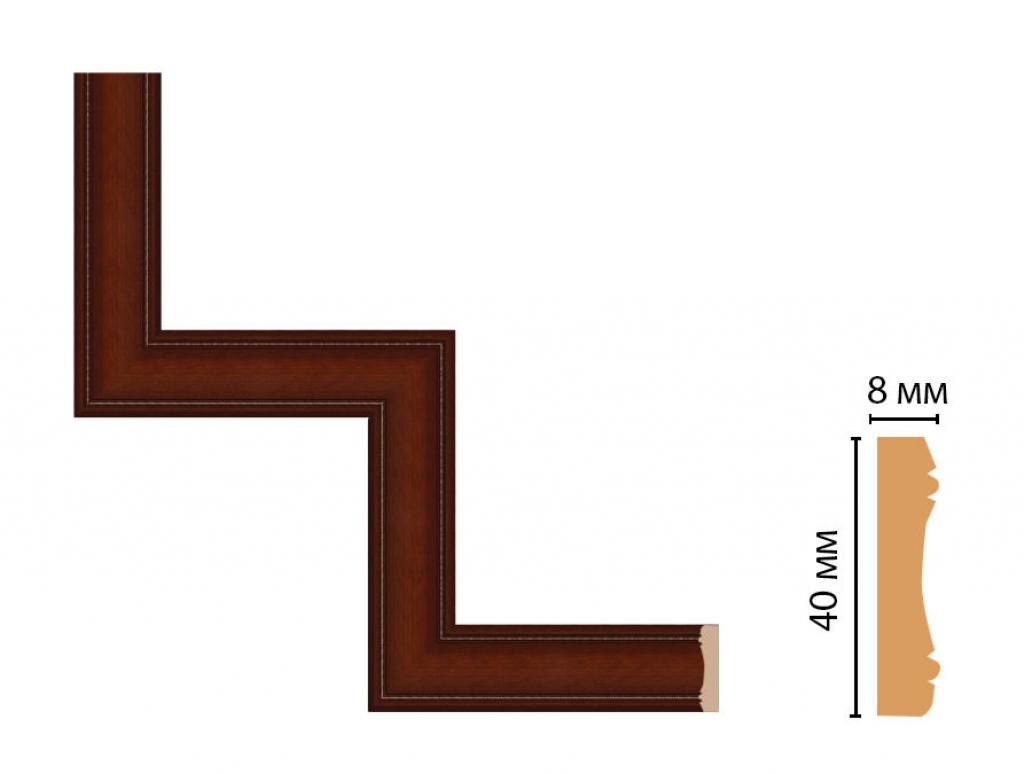 Декоративный угловой элемент DECOMASTER 187-1-52