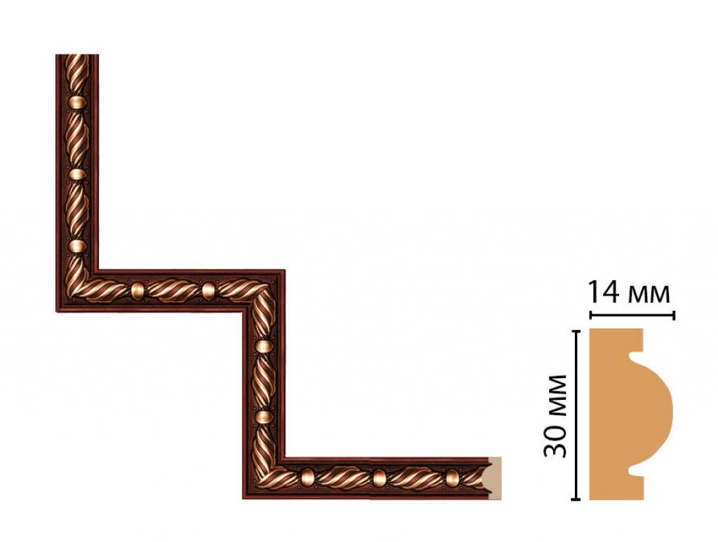 Декоративный угловой элемент DECOMASTER 157-1-52