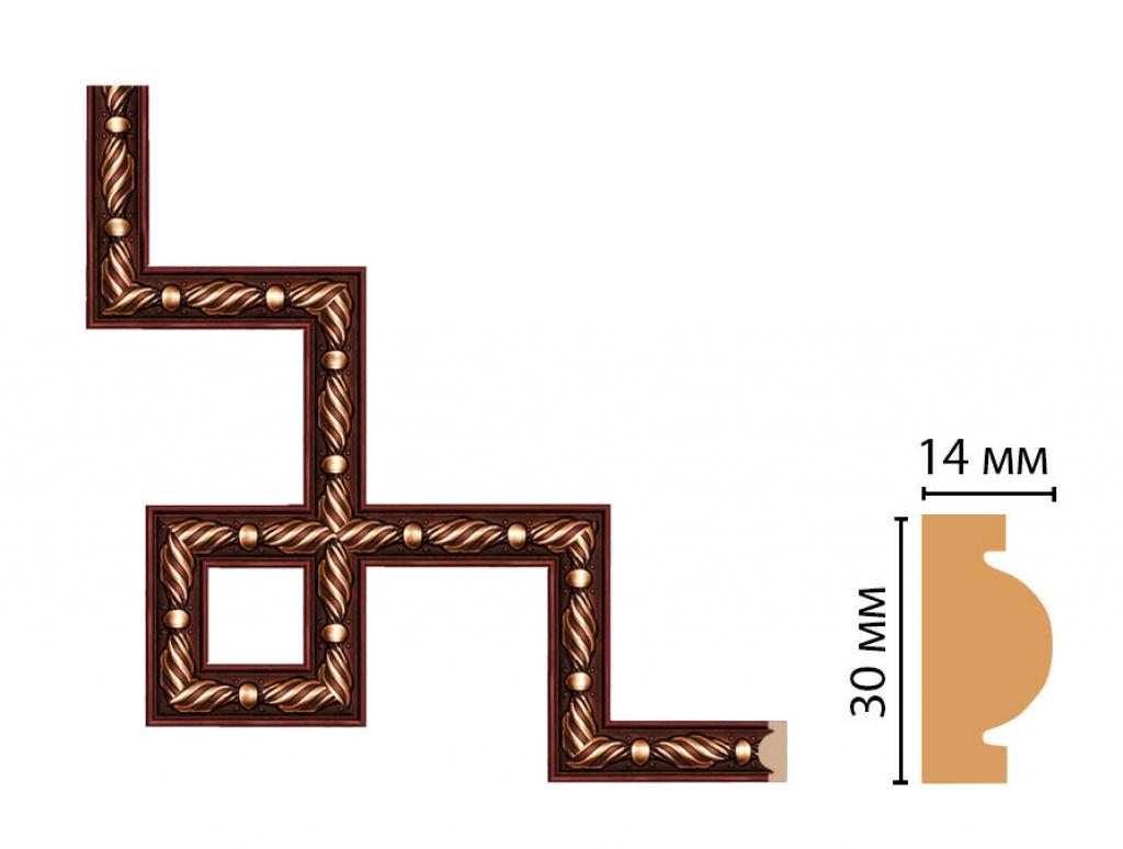 Декоративный угловой элемент DECOMASTER 157-3-52