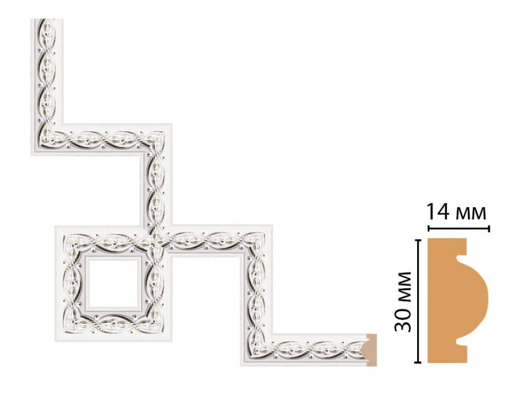 Декоративный угловой элемент DECOMASTER 157-3-7D