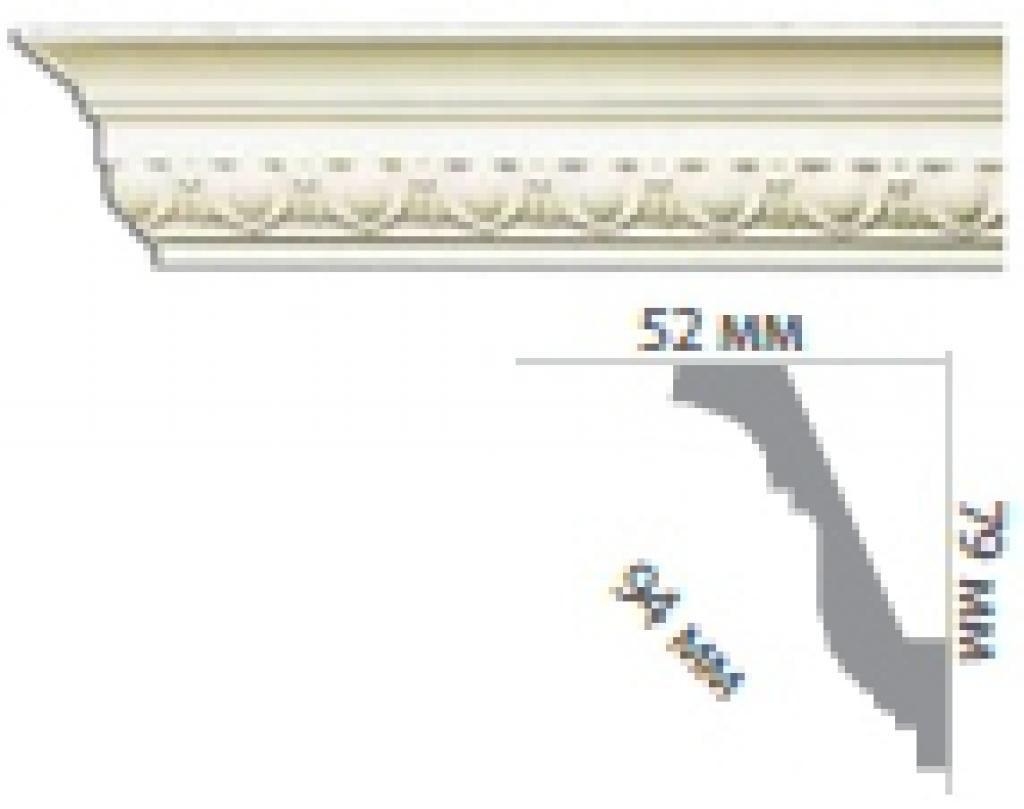 Карниз с орнаментом C1001
