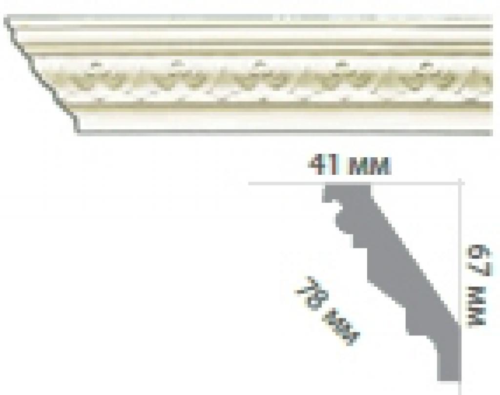 Карниз с орнаментом C1003 FLEXI
