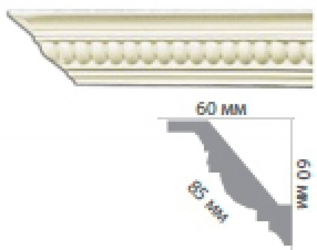 Карниз с орнаментом C1005