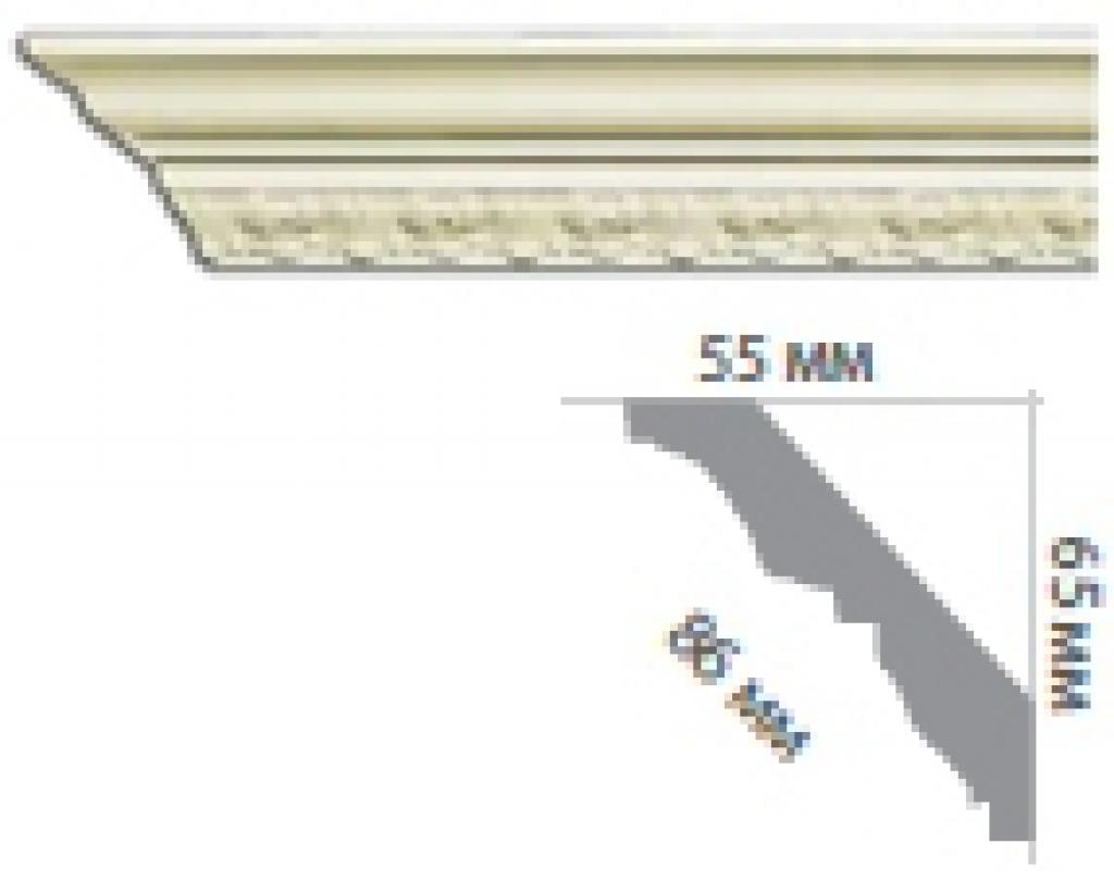Карниз с орнаментом C1016