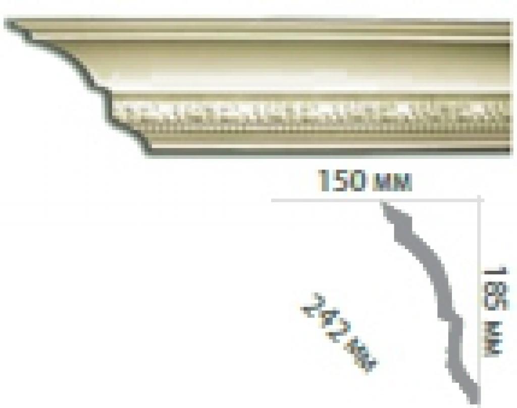 Карниз с орнаментом C1020