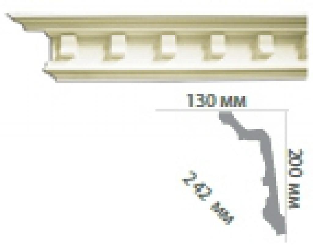 Карниз с орнаментом C1024