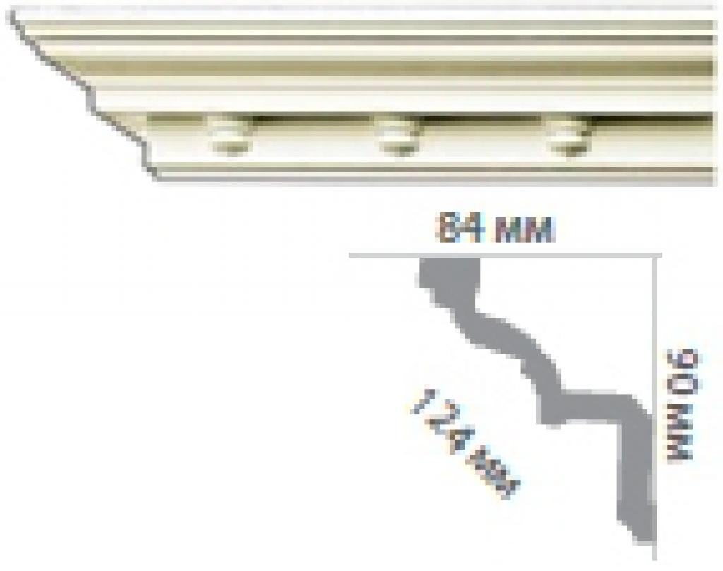 Карниз с орнаментом C1028