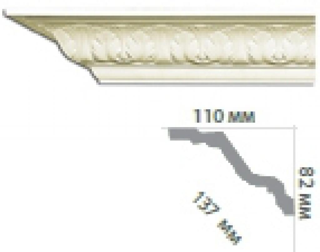 Карниз с орнаментом С1030