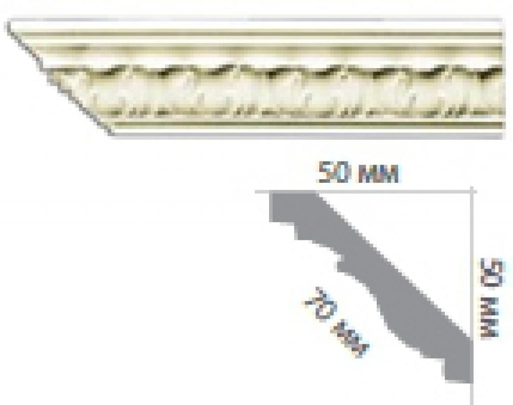 Карниз с орнаментом C1041