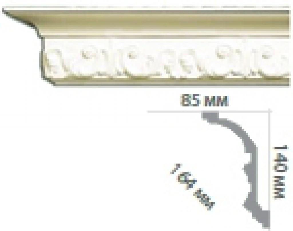 Карниз с орнаментом C1050