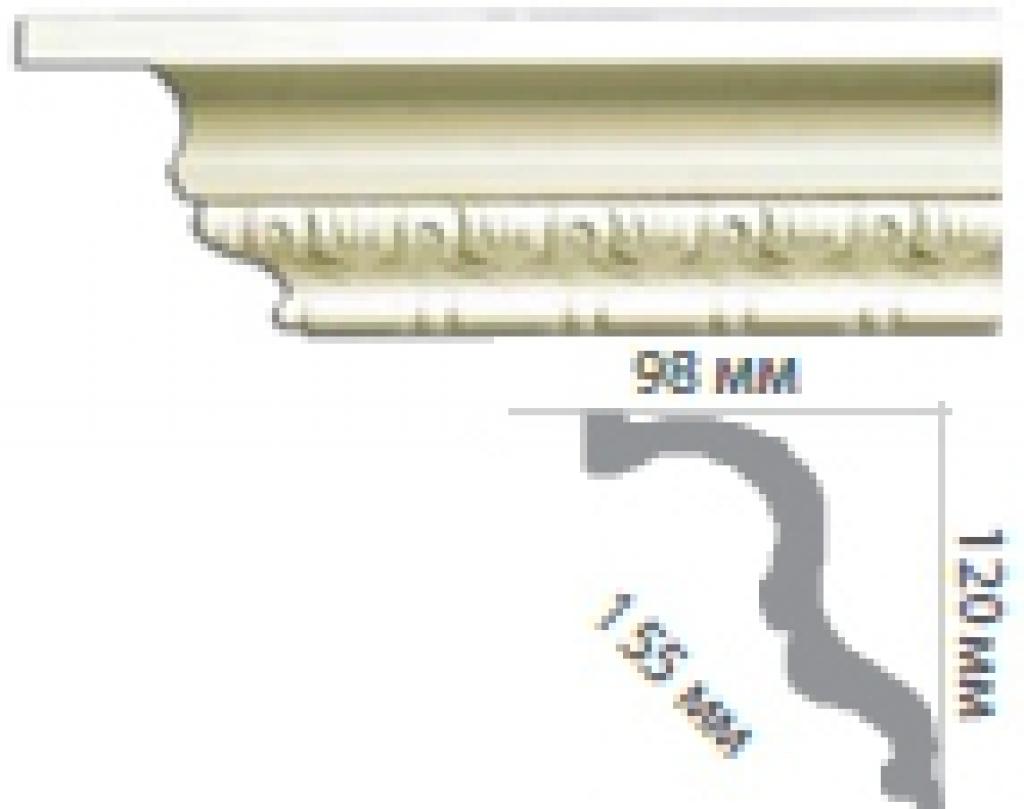 Карниз с орнаментом C1062