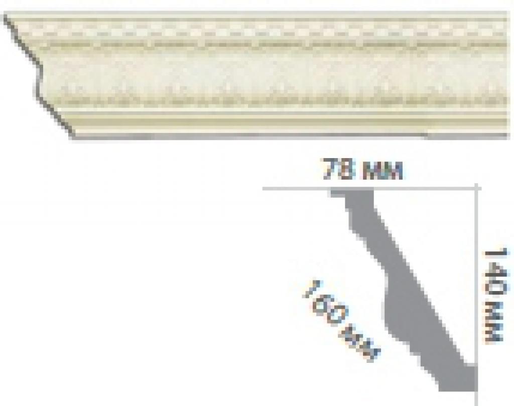 Карниз с орнаментом С1075