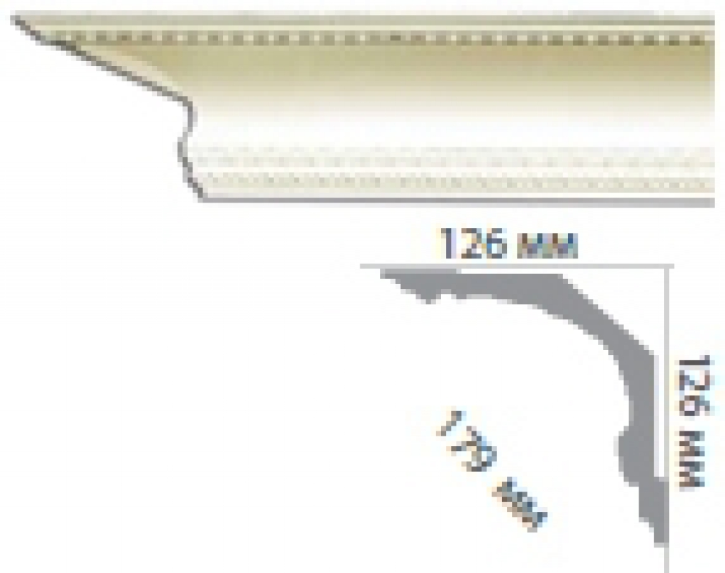 Карниз с орнаментом C109