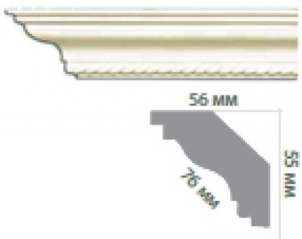 Карниз с орнаментом C1090